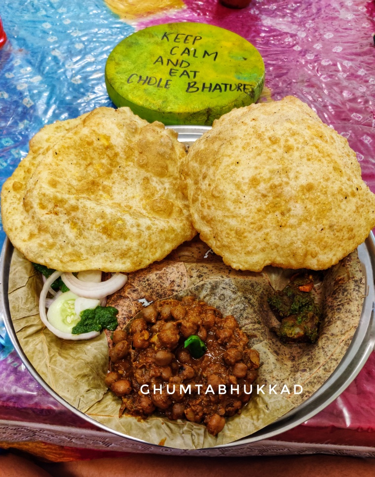 Jalandhar Chole Bhature